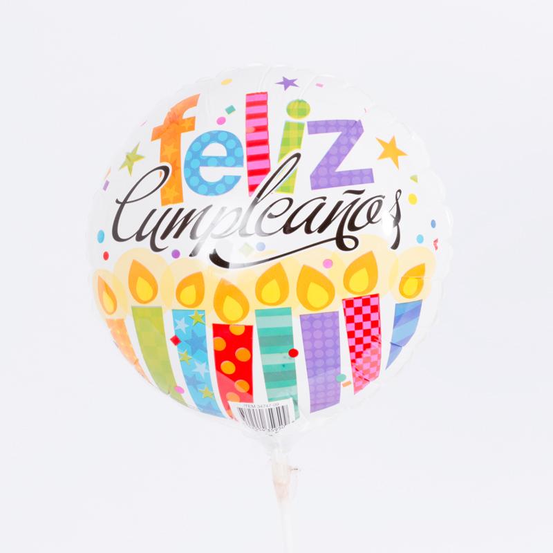 Globo de cumpleaños mini