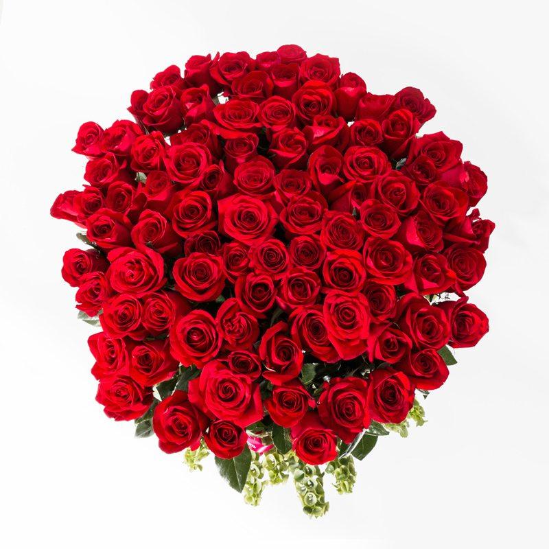 canasta 100 rosas 1